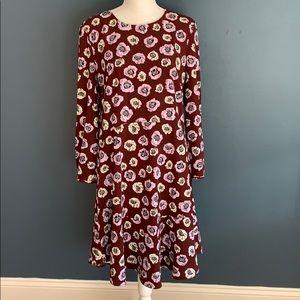 3/$15 LOFT   Floral Sheath Dress